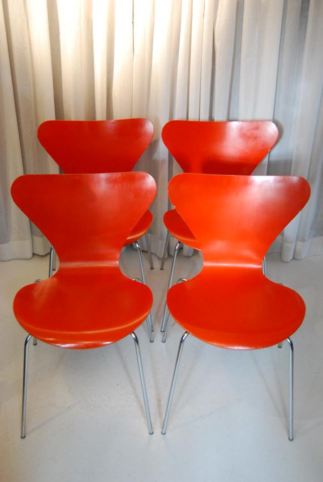 Arne Jacobsen Vintage Vlinderstoel Fritz Hansen DE
