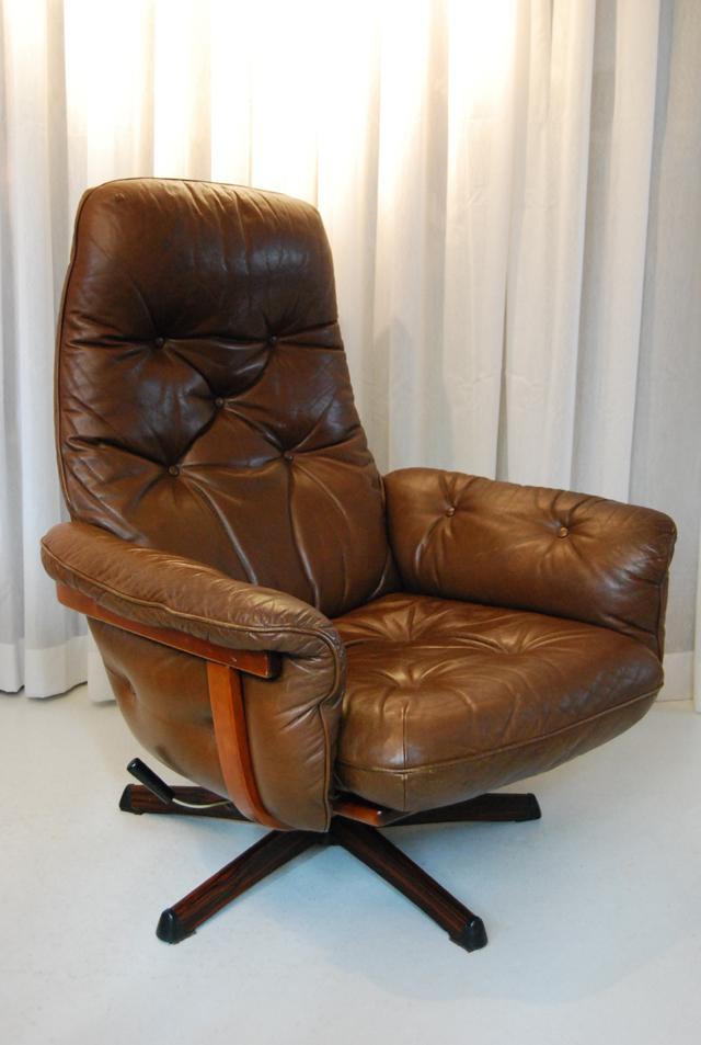 Mooie jaren 70 design fauteuil van g te m bel uit zweden for Mooie design fauteuils