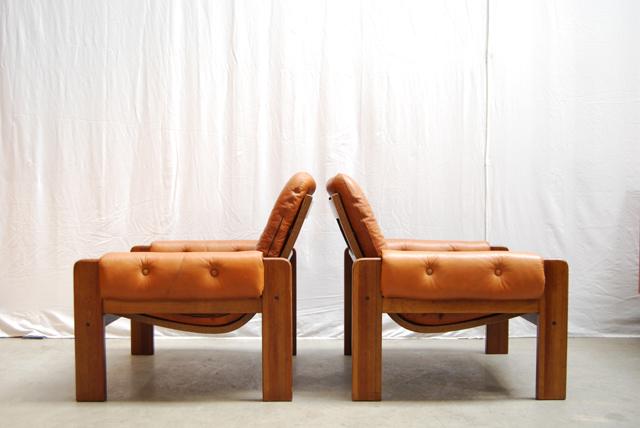 Een mooie set van twee jaren 70 Swedese Pastoe fauteuils DE GELE ETALAGE