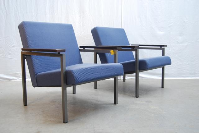 Design Slaapbank Gijs Van Der Sluis 540.Twee Jaren 60 Vintage Gijs Van Der Sluis Fauteuils 30 De Gele