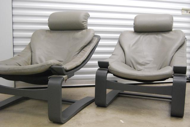 Scandinavische jaren 70 lounge fauteuils kroken ake fribytter de gele etalage - De meest comfortabele fauteuils ...