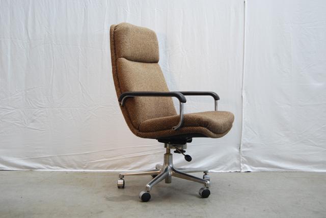 Artifort Bureaustoel Vintage.Originele Artifort Bureaustoel Met Retro Bekleding De Gele Etalage