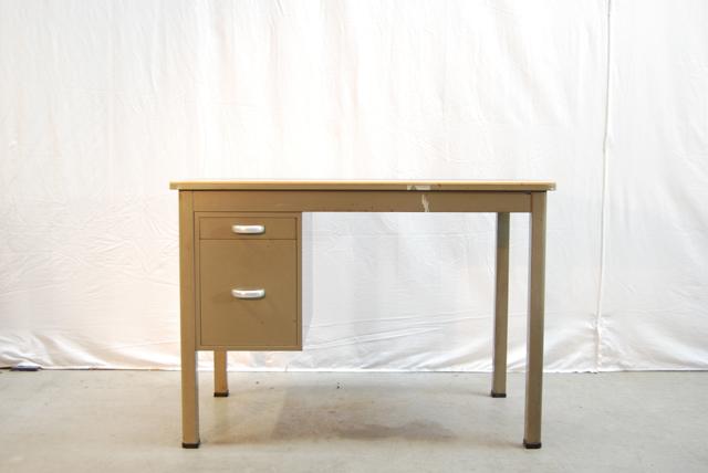 Industrieel vintage stalen typiste bureau van gispen de for Stalen ladenblok