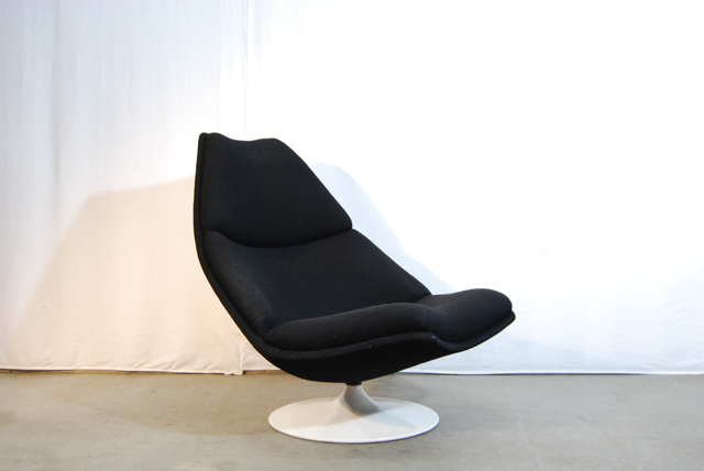 Artifort design fauteuil f510 geoffrey harcourt de gele etalage - Kleine design lounge ...