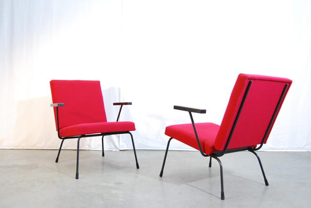 Jaren rode design fauteuils model rietveld gispen