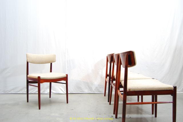 Design Pastoe Stoelen : Jaren 70 eettafel stoelen met palissander uitstraling pastoe de