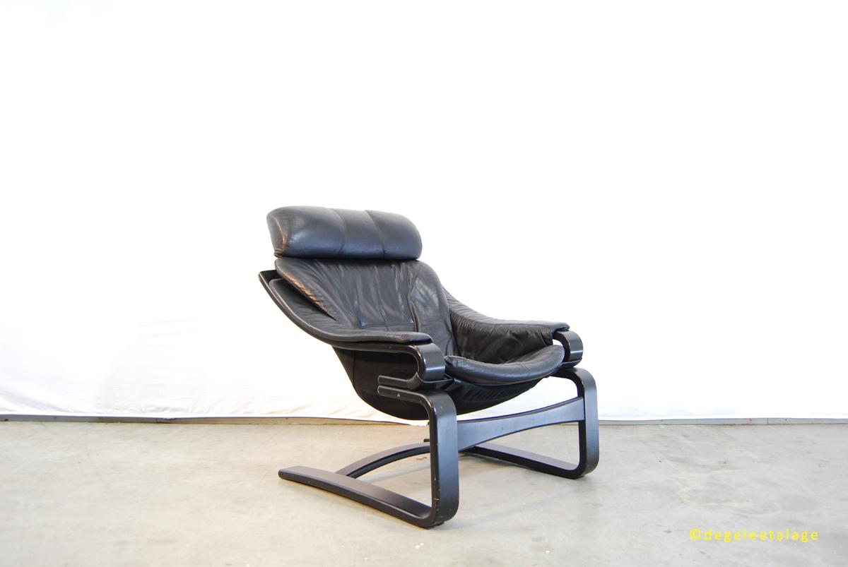 Scandinavische Vintage Woonkamer : Scandinavische jaren 70 lounge fauteuil skippers furniture deens