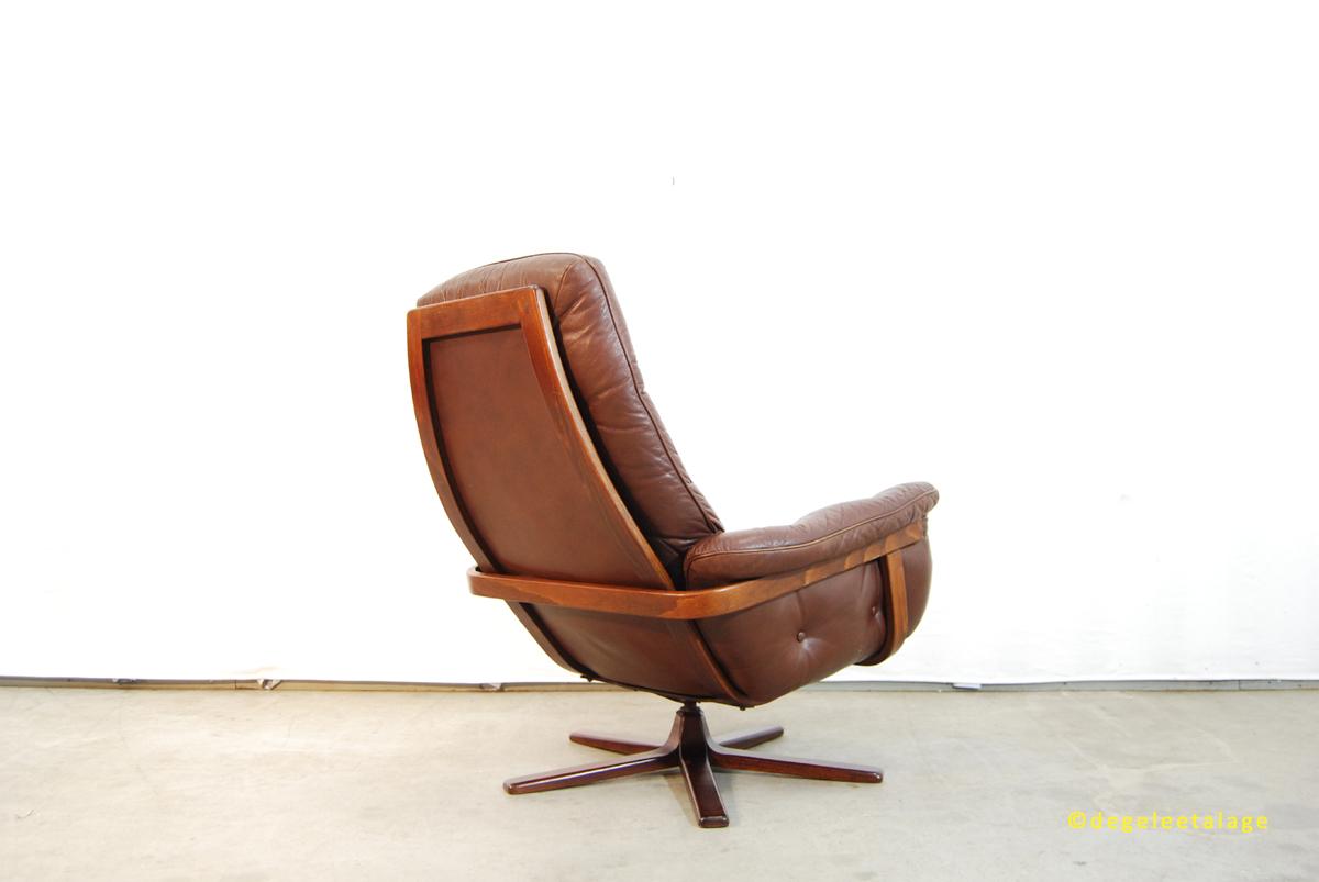 vintage jaren 70 design fauteuil g te m bel zweden de gele etalage. Black Bedroom Furniture Sets. Home Design Ideas