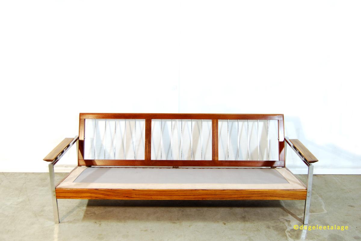 Hoekbank Elements Topform.Vintage Jaren 60 Design Sofa Bank Topform De Gele Etalage
