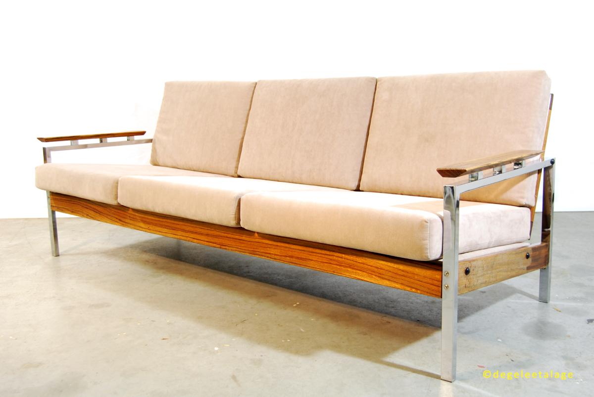 Design Vintage Bank.Vintage Jaren 60 Design Sofa Bank Topform De Gele Etalage