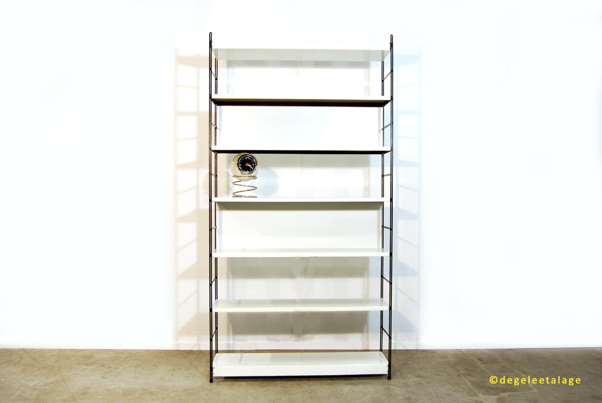 Metalen Kast Retro : Vintage jaren industriële metalen design boekenkast