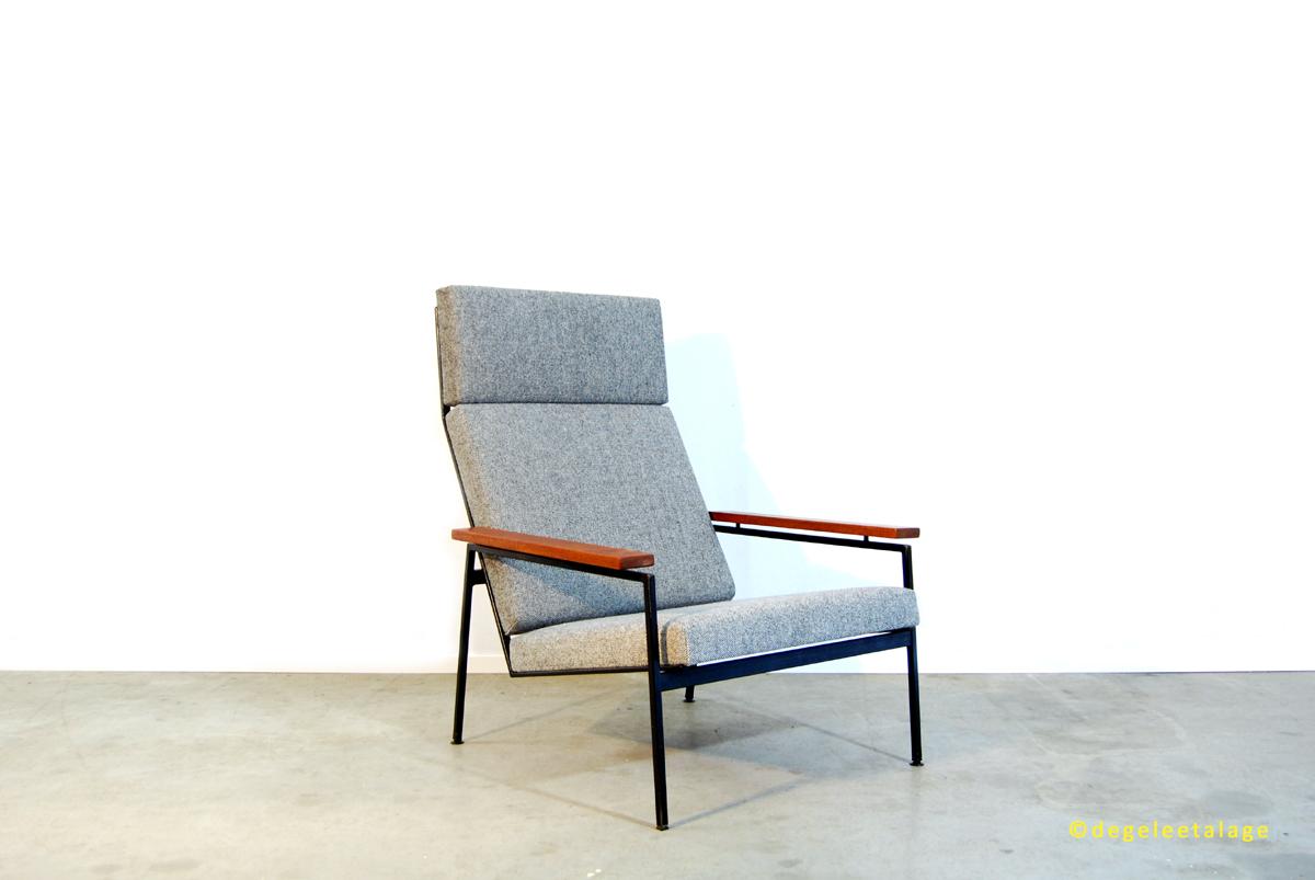 Uitgelezene Jaren 50 vintage design fauteuil / Rob Parry / Gelderland. | DE BT-65