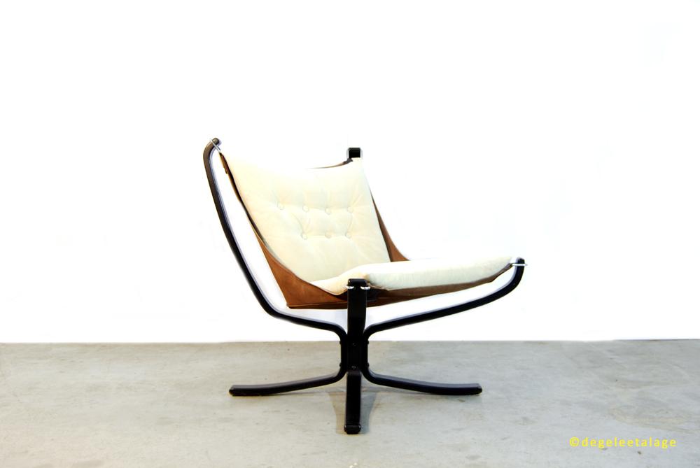 Vintage Design Fauteuil.Jaren 70 Vintage Design Fauteuil Falcon Chair Sigurd Ressell