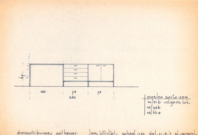 K1709-18 DE GELE ETALAGE PASTOE