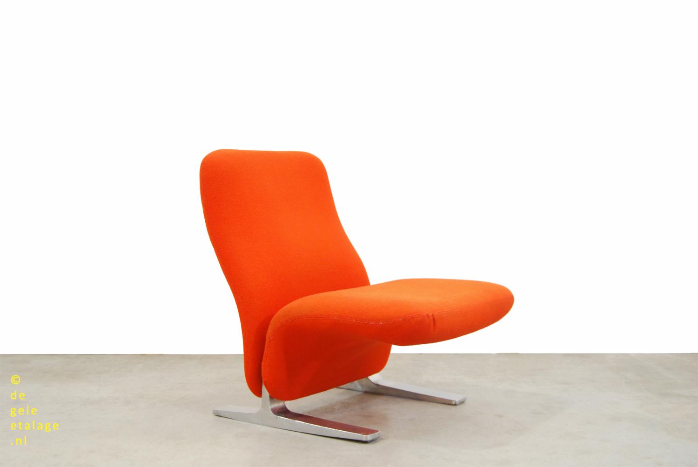 Oranje Design Fauteuil.Vintage Design Fauteuil Concorde Pierre Paulin