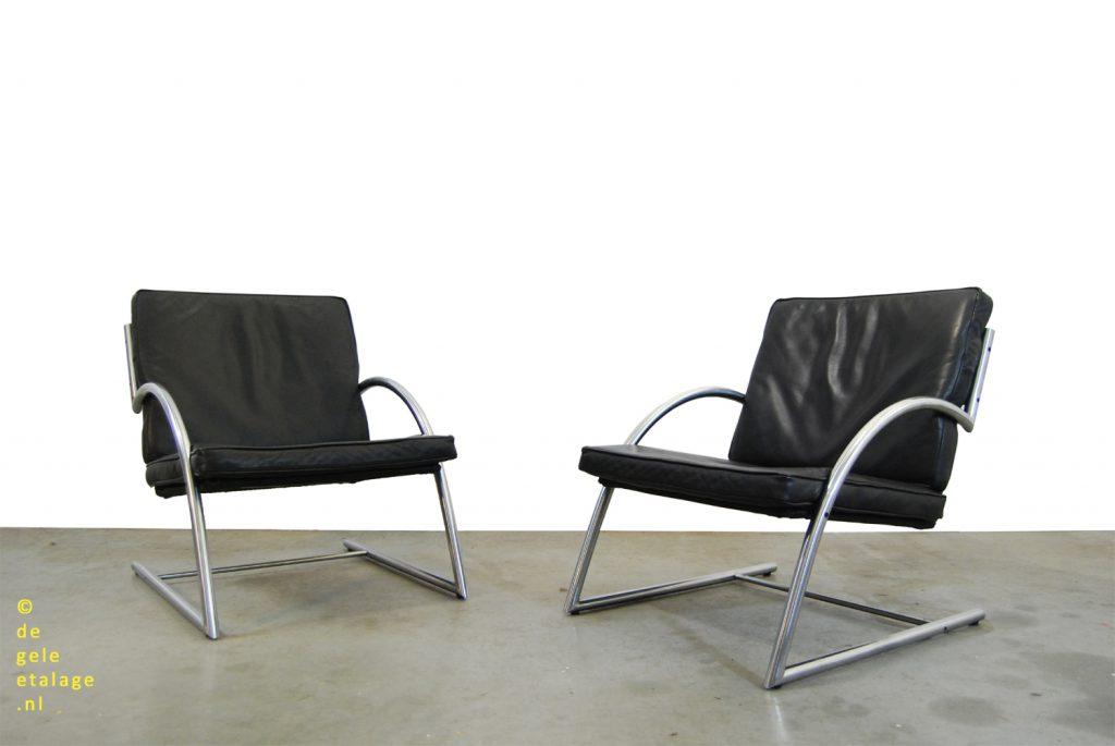 Design Bank Gerard Van De Berg.Vintage Design Fauteuils Gerard Van Den Berg Rohe Noordwolde