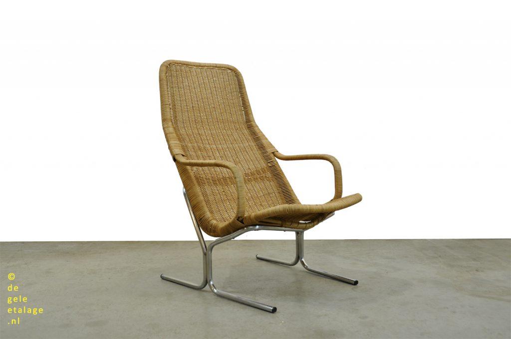 Mooie Design Fauteuils.Dirk Van Sliedregt Gebroeders Jonkers Vintage Rotan